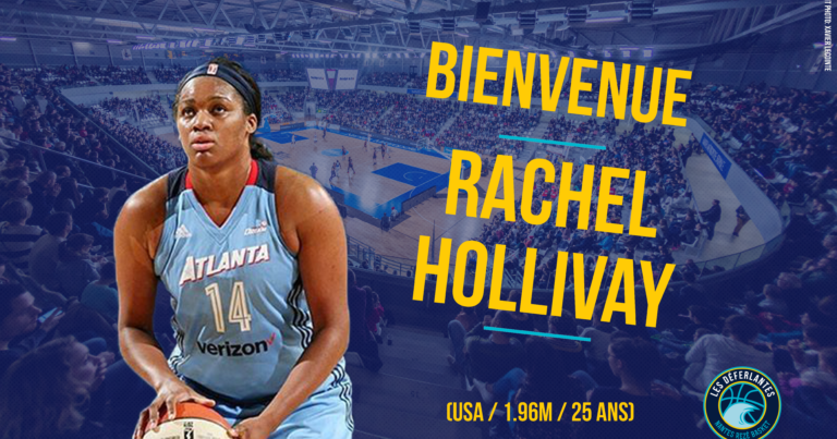 Welcome Rachel Hollivay !